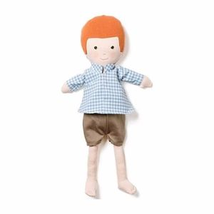 Hazel Village Boy on Gingham Shirt